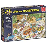 Jumbo - Puzzle Wild Water Rafting, 1500 Piezas (619015)