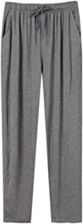 WAEKQIANG Men's Pajama Pants Loose Modal Men's Pajama Pants Home Pants Casual Loose Pants