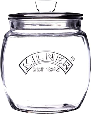 Kilner Universal Storage Jar, 850ml, Clear 01777