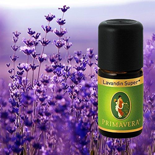 Primavera Bio Duftöle für Aromatherapie zu je 5ml, Duft:Lavendel / Lavandin Super Bio