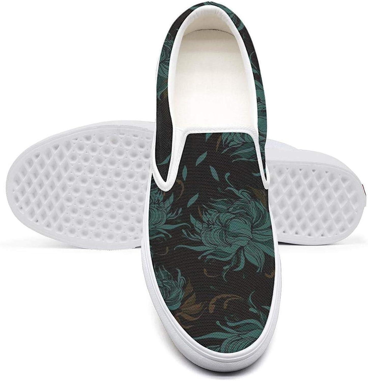 OIPVBDSEXZ Tropical Floral Garden iris Flourish Garden Womens Casual Sneaker Style shoes Breathable Walking shoes