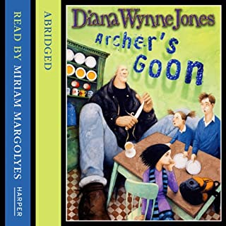 Archer's Goon                   By:                                                                                                                                 Diana Wynne Jones                               Narrated by:                                                                                                                                 Miriam Margolyes                      Length: 3 hrs and 36 mins     2 ratings     Overall 4.0
