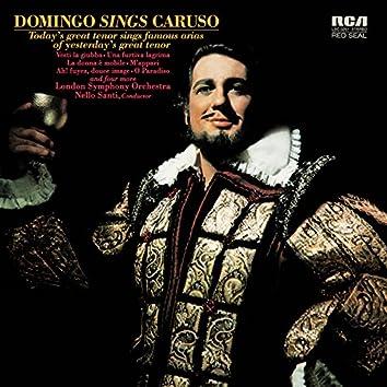 Plácido Domingo: Domingo sings Caruso