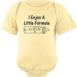 Enjoy a Little Formula Funny Math Nerd Bodysuit