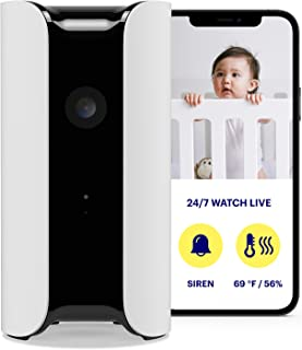 CANARY: All-in-One Indoor 1080p HD Security Camera with Built-in Siren and Climate Monitor   App Phone Motion/Person/Air Q...