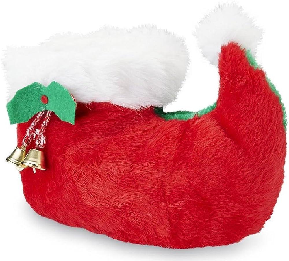 Joe Boxer Women's Elf Christmas Slippers