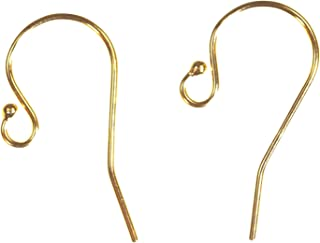 gold filled wire earrings