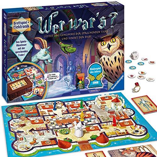 Ravensburger Kinderspiel Wer war\'s, Gesellschafts- und Familienspiel, für Kinder und Erwachsene, Kinderspiel des Jahres, für 2-4 Spieler, ab 6 Jahren