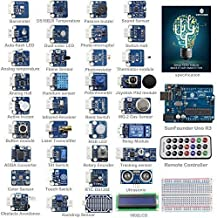 SunFounder Ultimate UNO R3 Sensor Kit V2.0 for Arduino UNO R3 Mega2560 Mega328 Nano - Including 98 Page Instructions Book