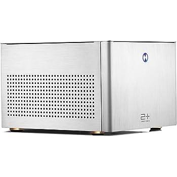 GOLDEN FIELD N-2S PC Case ITX Computer Case Mini Size Aluminum PC Desktop Casing Sliver