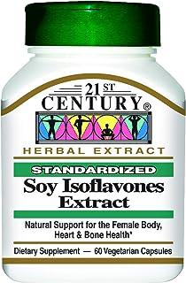 21st Century Soy Isoflavones Extract Standardized, 60 Vegetarian Capsules