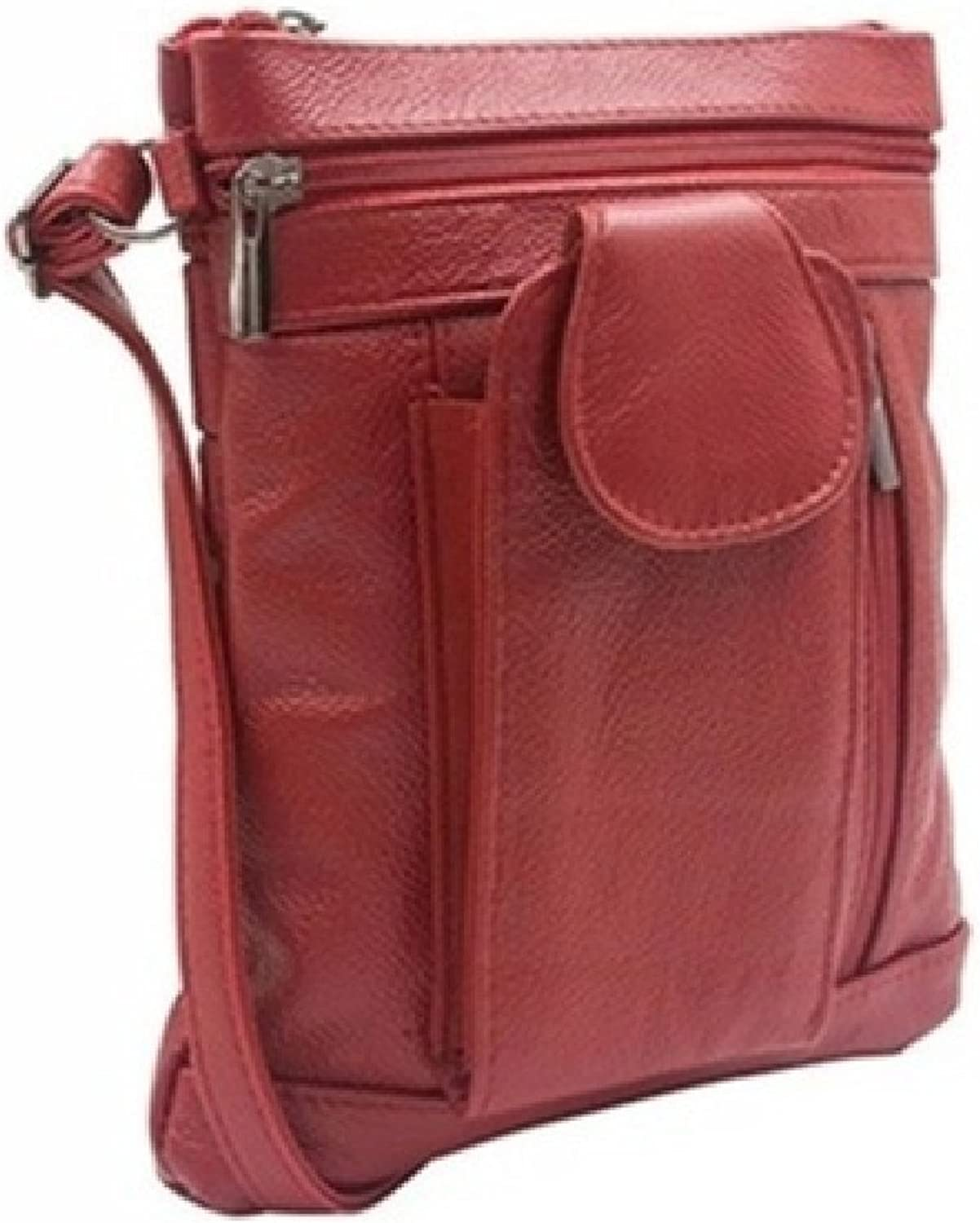 OntheGo Soft Leather Crossbody Bag  6 Styles