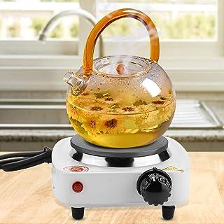 Wosune Réchaud de comptoir Portable, cuisinière à Prise EU, Plaque chauffante à Eau, Voyage pour la Cuisson à la Maison