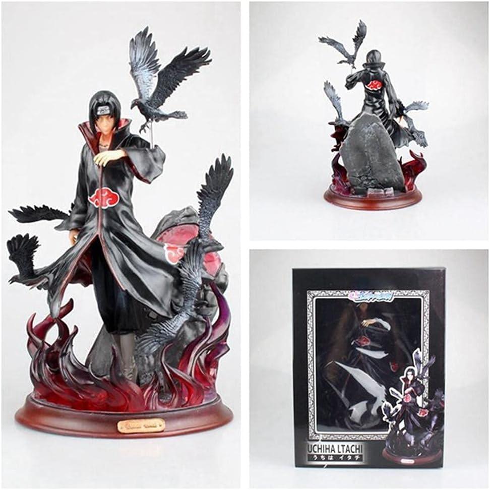 Naruto Action Figure Statue Akatsuki Limited time sale Anime Itachi Uchiha Ch Crow New item