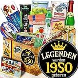 Legenden 1950 - Präsentkorb Geburtstag - DDR Korb Spezialitäten