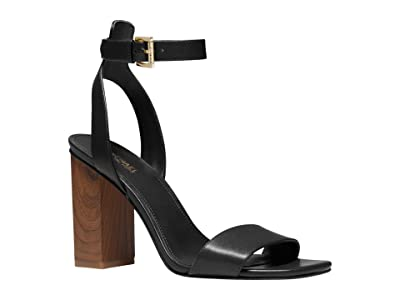 MICHAEL Michael Kors Petra Ankle Strap (Black 2) Women