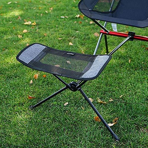 cyi Stuhl versenkbare Fußstütze Tragbare Klappstuhlauflage Rucksack Strandfischen Outdoor Stühle