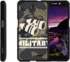 TurtleArmor | Compatible with ZTE Sonata 3 Case | Maven 2 Case | Chapel Case [Slim Duo] Ultra Slim Hard Matte 2 Piece Snap On Cover on Black War and Military - Military Binoculars