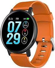 YZY Smart-armband, IP67 waterdichte activiteitstracker met hartslagmonitor, slaap-stappenteller, calorieënteller en push-i...