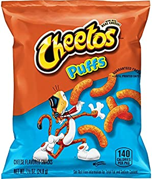 40-Pack Cheetos Puffs Cheese Flavored Snacks, 0.875 Ounce