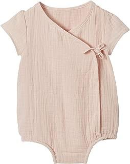 VERTBAUDET Chaqueta beb/é reci/én nacido tricotada de punto bobo AZUL MEDIO LISO 1M-54CM