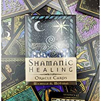 EGuideブックタロットカードゲームの占い占いゲームを備えた完全英語版のOracleカードデッキ