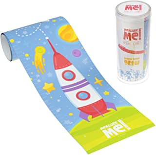 Little Wigwam Measure Me! Baby Roll-up Growth Height Chart for Children Kids Room - Super Space