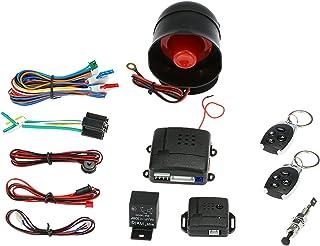 $26 » Carrfan Universal Car Vehicle Security System Burglar Alarm Protection Anti-Theft System 2 Remote