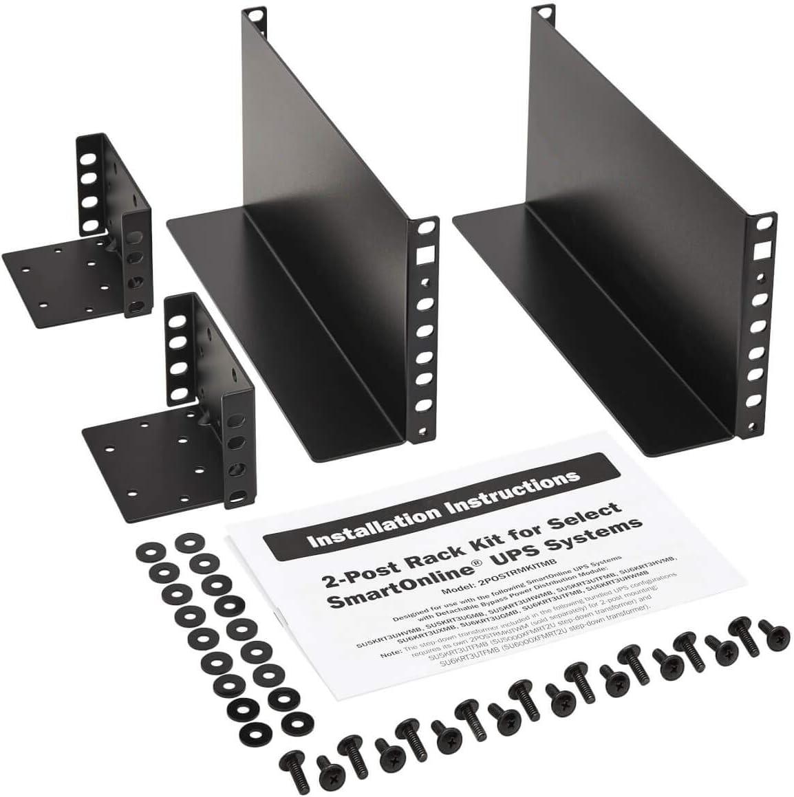 Tripp Lite 2-Post Rackmount Installation Kit for Unity Power UPS (2POSTRMKITMB)