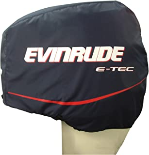 Johnson Evinrude OMC New OEM Outboard Motor Blue Cloth Storage Cover, 0763639