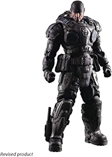 Gears of War: Marcus Fenix Play Arts Kai Action Figure - High About 10.6 Inches