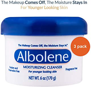 PACK OF 3 EACH ALBOLENE CREAM JAR UNSC 6OZ PT88941101640 by Albolene