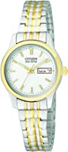 Citizen Women's Eco-Drive Expansion Band Watch with Day/Date, EW3154-90A