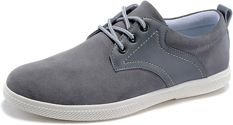 WLJSLLZYQ Autumn Men's shoes British Fashion Men's shoes Suede Breathable shoes