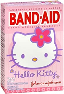 PACK OF 3 EACH BAND-AID HELLO KITTY 20EA PT#38137005616