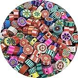 JQBB430 30 unids / lote 10 mm Colores mixtos de mezcla múltiples gotas de arcilla de arcilla de arcilla Polímero Clay Beads para joyería Hacienda DIY Accesorios hechos a mano Snttz ( Color : 11 )