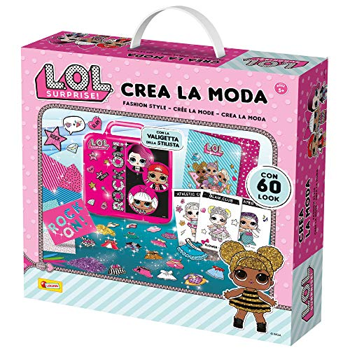 Lisciani Giochi- LOL Surprise-Crea la Moda L.O.L Gioco per Bambini, Multicolore, 77540