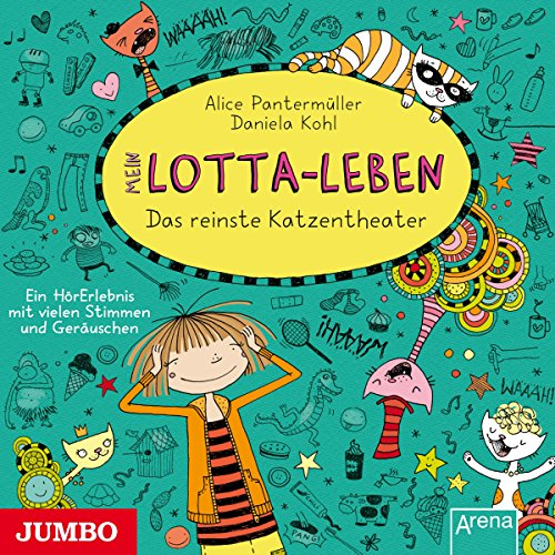 Mein Lotta-Leben. Das reinste Katzentheater                   Autor:                                                                                                                                 Alice Pantermüller                               Sprecher:                                                                                                                                 Katinka Kultscher                      Spieldauer: 1 Std. und 20 Min.     28 Bewertungen     Gesamt 4,6