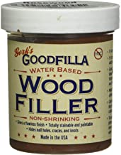 Water-Based Wood & Grain Filler - Rosewood - 8 oz by Goodfilla | Replace Every Filler & Putty | Repairs, Finishes & Patche...