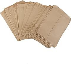 100pcs Pochette Sac Collé en Kraft Papier Vintage pour Semences