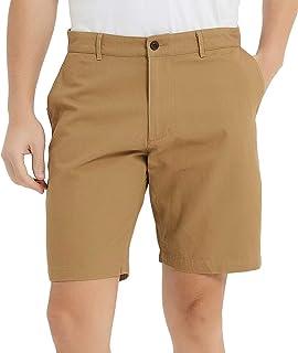 Mens Shorts Casual Classic Fit Comfy Chino Golf Short