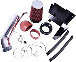 TOHUU Performance Cold Air Intake Kit with Air Filter and Heat Shield for Cadillac Escalade Chevy Avalanche Suburban Silverado 1500 GMC Sierra Yukon Denali(Red)