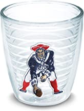 Tervis 1029031 NFL New England Patriots Legacy Tumbler with Emblem 12oz, Clear