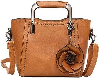 COMVIP 6Kinds Women Student School Tote Handbag Canvas Casual Crossbody Bag
