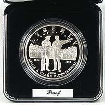 2004 Proof Lewis & Clark Commemorative Silver Dollar