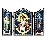 NKlaus 1451 Icono cristiano de la Madre Misericordiosa de Dios Altar de...