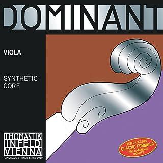Thomastik Cuerdas para Viola Dominant alma en nylon juego 4/4 blanda