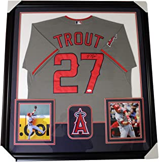 mike trout grey jersey