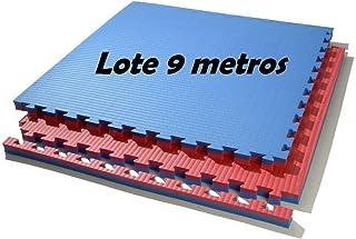 comprar comparacion Grupo Contact Lote 9 m. Cuadrados de Suelo Tatami, Colores (Rojo/Azul) de 2 cmts.