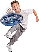 Hover Star- Motion Controlled UFO- Includes Glowing LED Lights- Blue